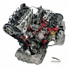 Engine repair Jaguar 306DT; AJV6D 3.0 diesel